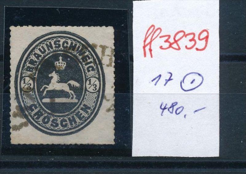 Braunschweig  Nr. 17    o  ( ff3839  ) siehe scan