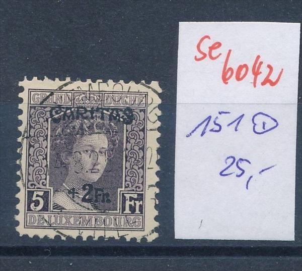 Luxemburg Nr. 151    o (se 6042  )  siehe Bild