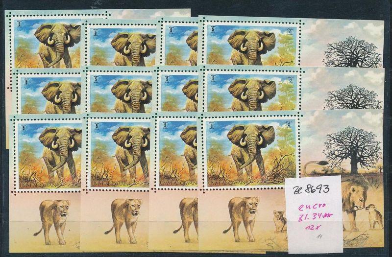 Elefanten Block um al Quian-enro **   (ze8693 ) siehe scan