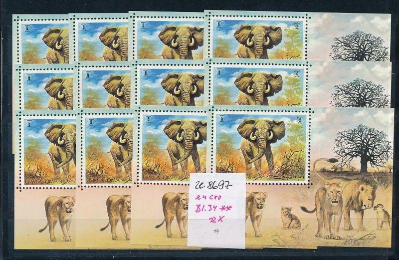 Elefanten Block um al Quian-enro **   (ze8697 ) siehe scan