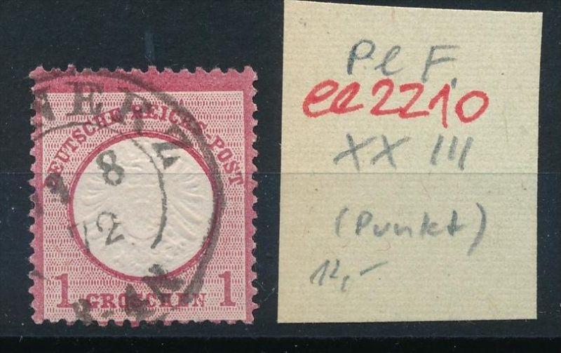 D.-Reich Nr. 19 PLF    o   (ee2210  ) siehe scan