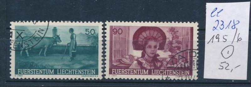 Liechtenstein Nr. 195-96   o ( ee2318 ) siehe scan