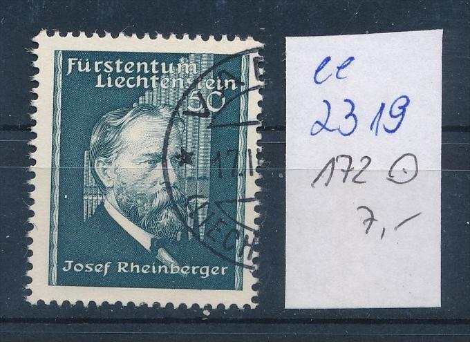 Liechtenstein Nr. 172   o ( ee2319 ) siehe scan