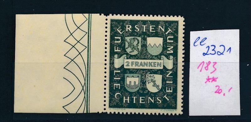 Liechtenstein Nr. 183 ** ( ee2321 ) siehe scan