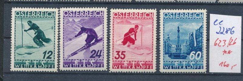 Österreich Nr. 623-26   ** ( ee2286 ) siehe scan