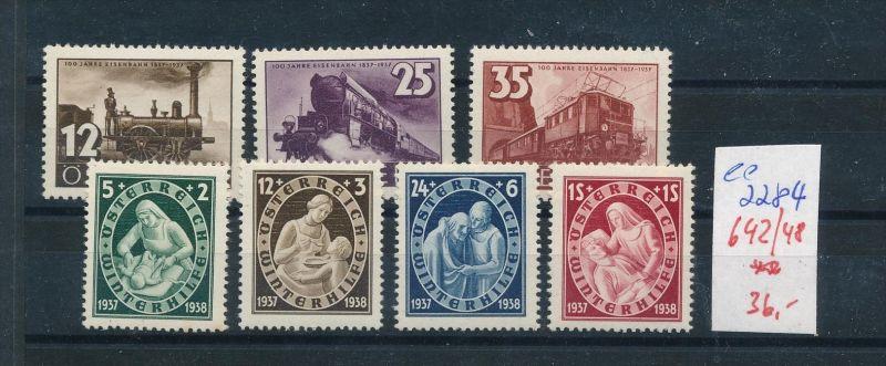 Österreich Nr. 642-8  ** ( ee2284 ) siehe scan