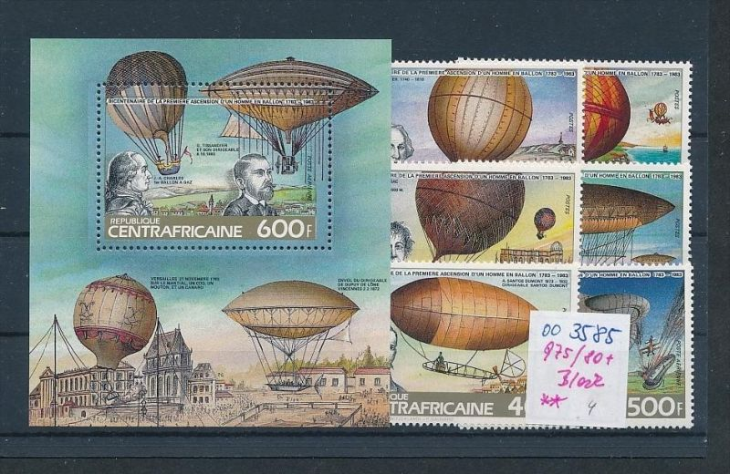 Weltraum -Z.-Afrika  975-80+ Block    **   ( oo3585 ) siehe scan !