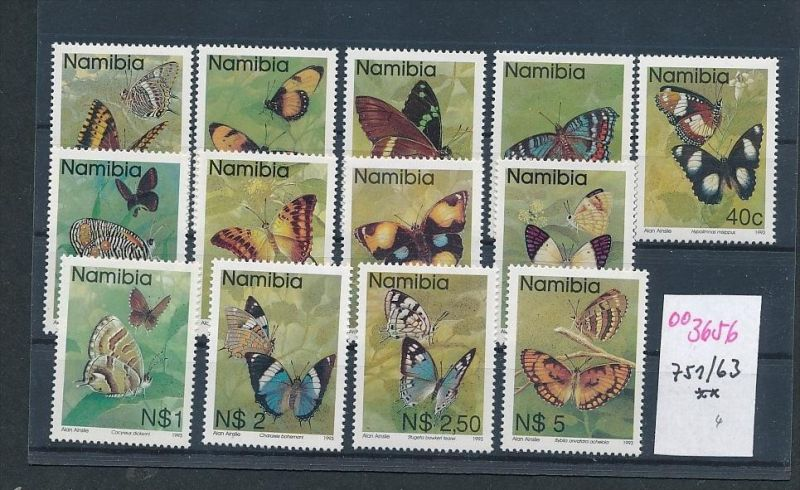 Namibia Schmetterlinge    ** ( oo3656  ) siehe scan !
