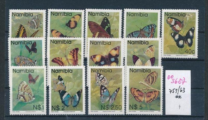 Namibia Schmetterlinge    ** ( oo3657  ) siehe scan !