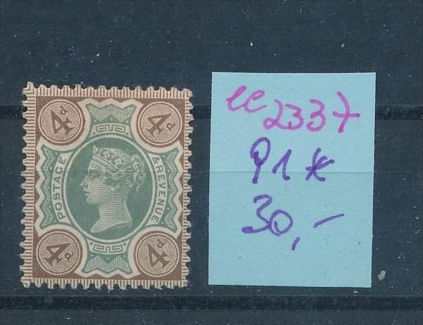 UK  Nr.  91  * ( ee2337  ) siehe scan !