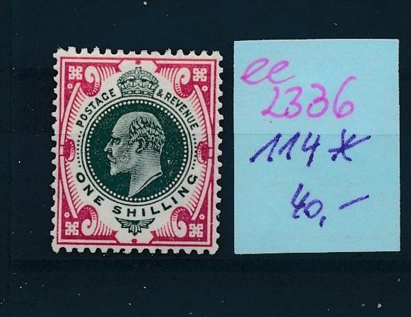UK  Nr.  114  * ( ee2336  ) siehe scan !