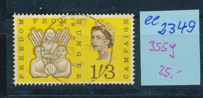 UK  Nr. 355 y  o    ( ee2349  ) siehe scan !