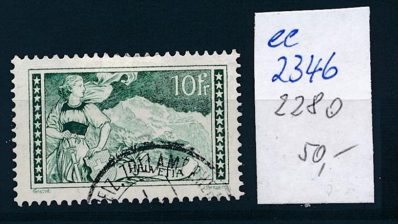 Schweiz Nr. 228   o    ( ee2346  ) siehe scan !