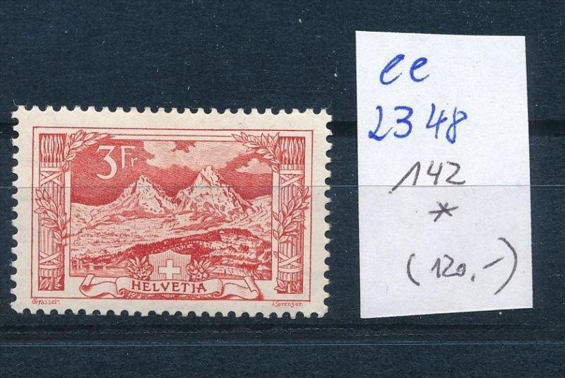 Schweiz Nr. 142 *  ( ee2348  ) siehe scan !