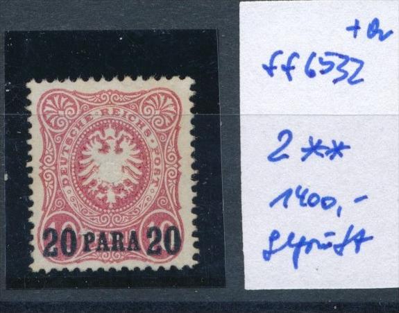 DP-Türkei   Nr. 2   **   (ff6532 )  siehe scan