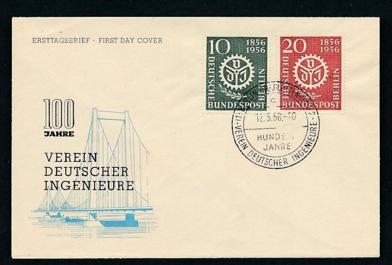 Berlin FDC 138-9 ( t6890  ) siehe scan !