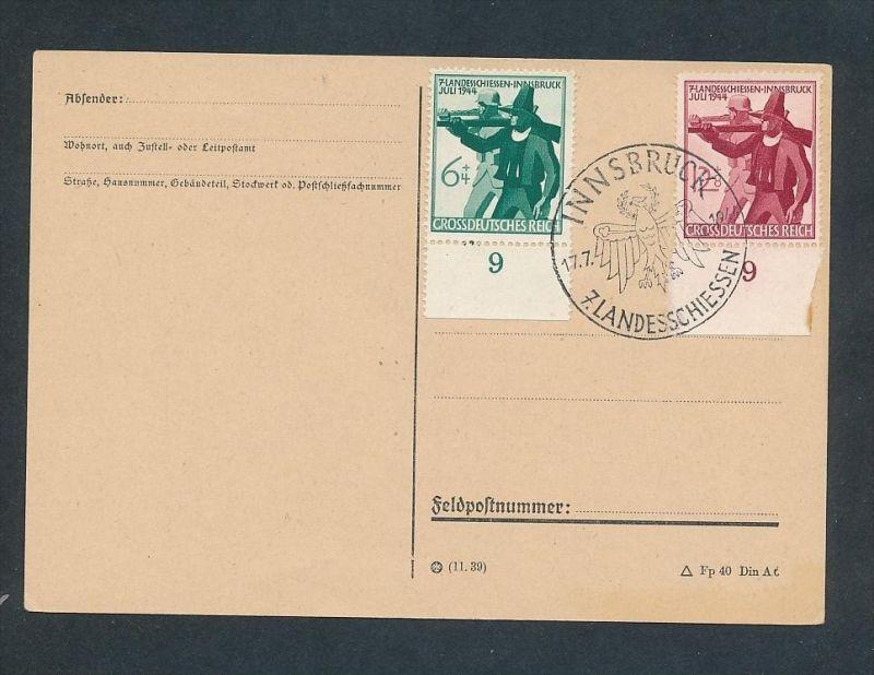 D.-Reich netter Stempel Beleg ...  (t5327 ) siehe scan