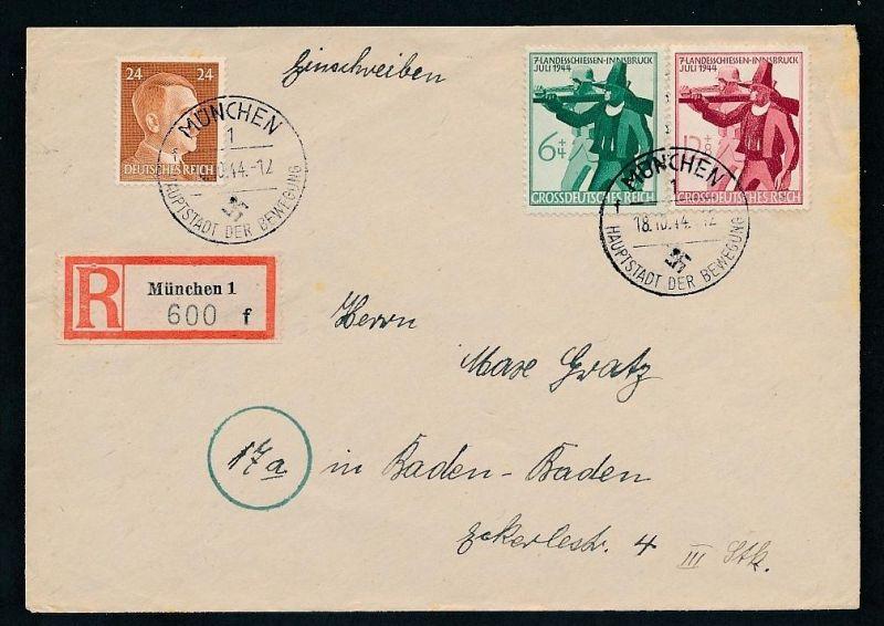 D.-Reich netter Stempel Beleg ...  (t5326 ) siehe scan