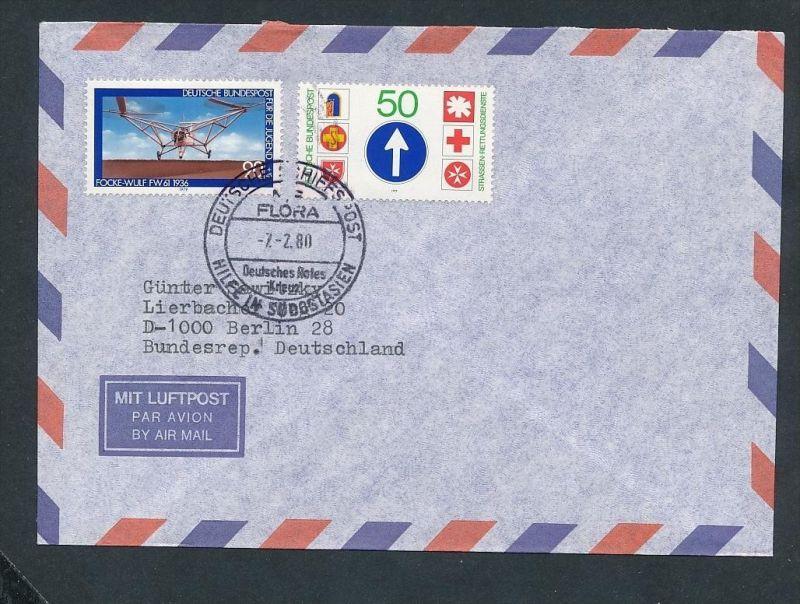 BRD -Luftpost  - netter Beleg (t9156 ) siehe Bild