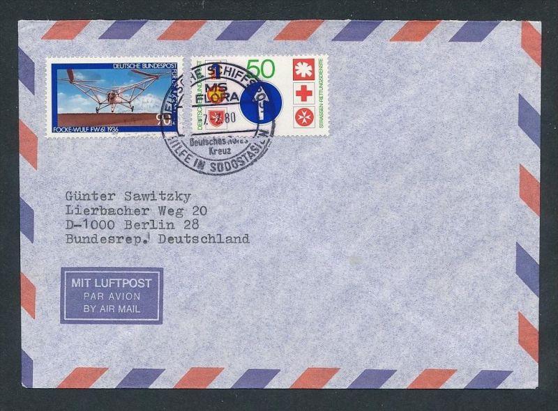 BRD -Luftpost  - netter Beleg (t9157 ) siehe Bild