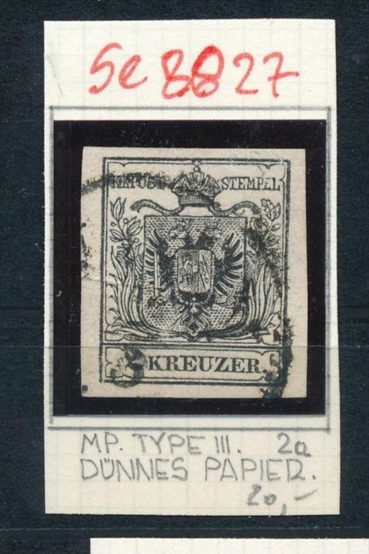 Österreich Nr. 2 Zettel beachten  o  (se8827  ) siehe Bild
