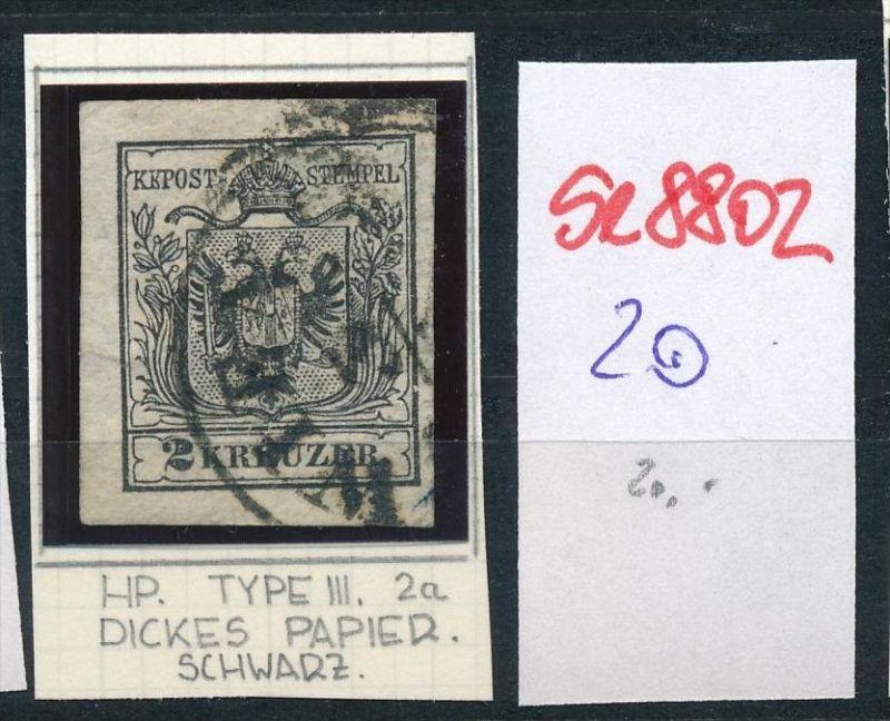 Österreich Nr. 2 Zettel beachten  o  (se8802  ) siehe Bild