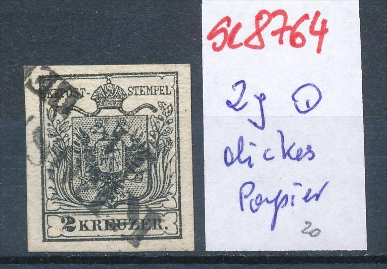 Österreich Nr. 2  ....... o    (se8764  ) siehe Bild