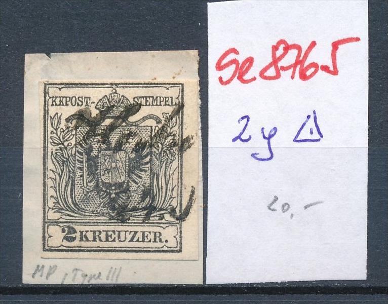 Österreich Nr. 2  ....... o    (se8765  ) siehe Bild