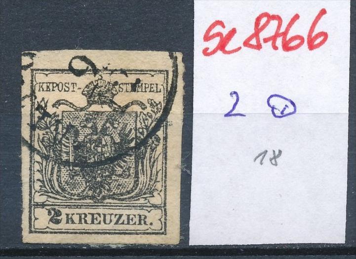 Österreich Nr. 2  ....... o    (se8766  ) siehe Bild