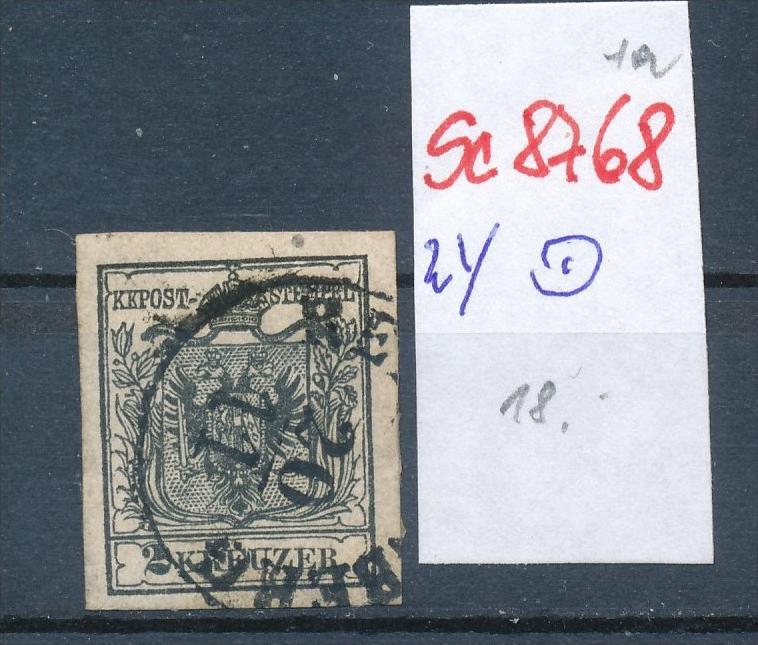 Österreich Nr. 2  ....... o    (se8768  ) siehe Bild