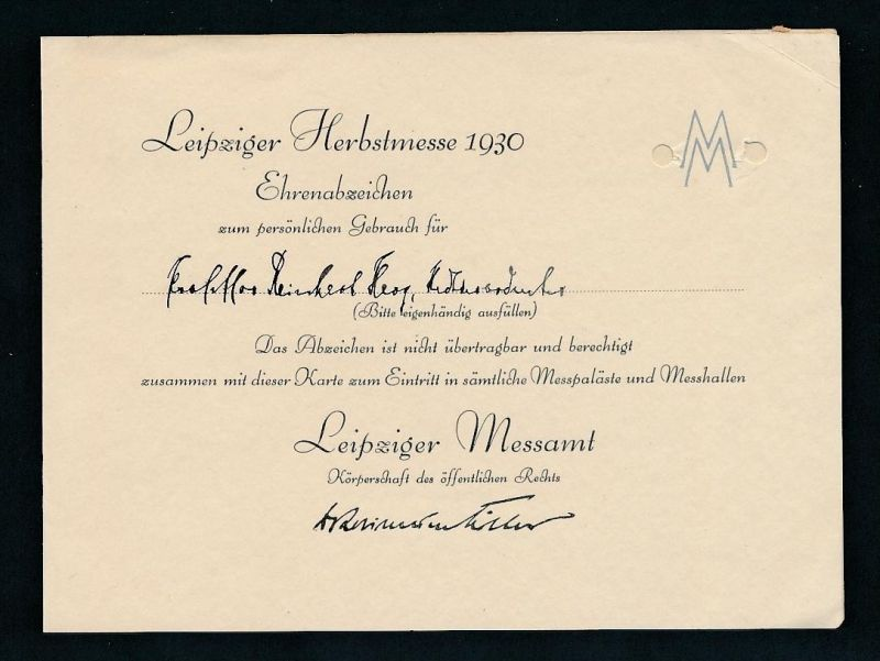 DR - Leipziger Messe Beleg ( ze 7393 ) siehe scan !
