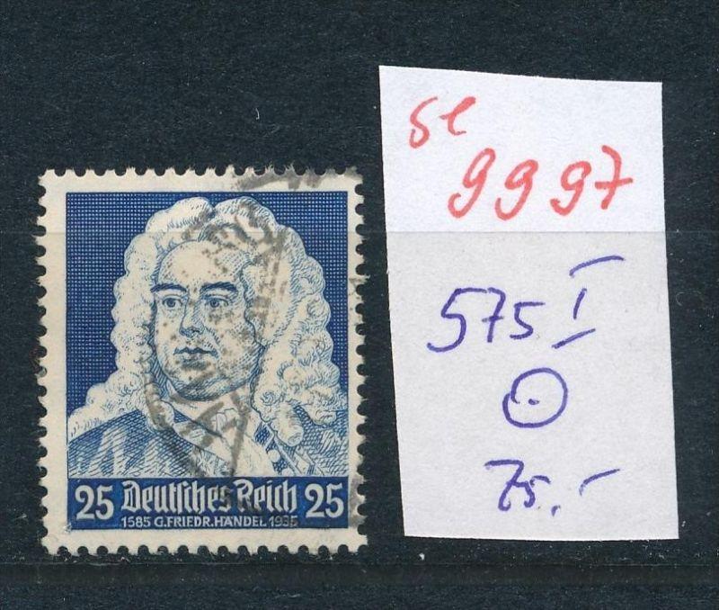 D.-Reich Nr. 575   I o   (se9997  ) siehe Bild
