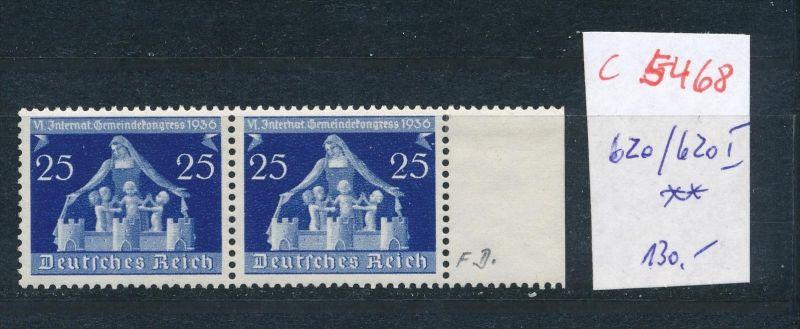 D.-Reich Nr. 620/21 I **   (c5468  ) siehe Bild