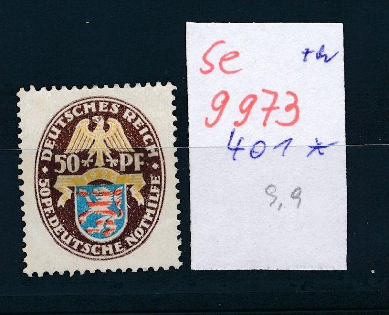 D.-Reich Nr. 401   *    (se 9973  ) -siehe Bild