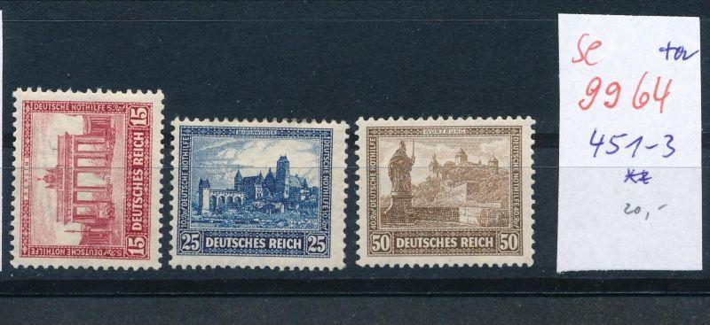 D.-Reich Nr. 451-3 **    (se 9964  ) -siehe Bild