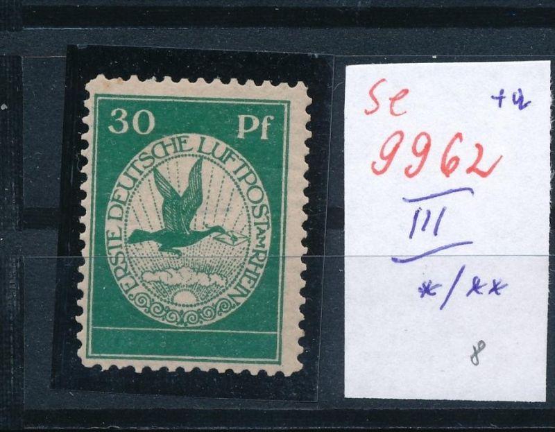D.-Reich Nr.  III *    (se 9962  ) -siehe Bild