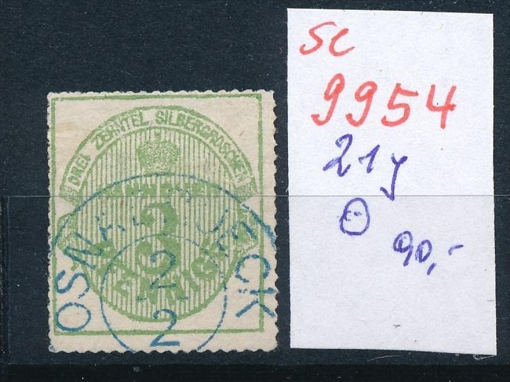 Hannover Nr. 21 y o    (se 9954  ) -siehe Bild