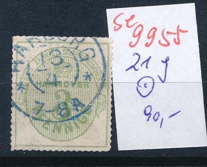 Hannover Nr. 21 y o    (se 9955  ) -siehe Bild