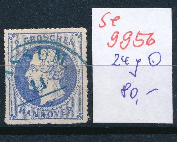 Hannover Nr. 24 y o    (se 9956  ) -siehe Bild