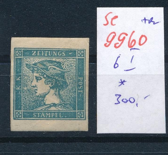 Österreich Nr.  6 I *    (se 9960 ) -siehe Bild