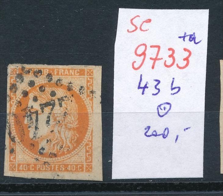 Frankreich Nr. 43 b   o    (se 9733 ) -siehe Bild