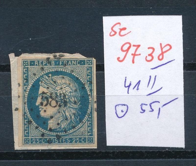 Frankreich Nr.   41 II  o    (se 9738 ) -siehe Bild