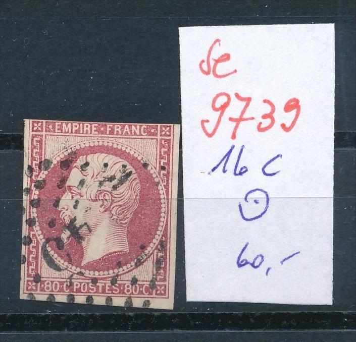 Frankreich Nr.   16 c   o    (se 9739 ) -siehe Bild