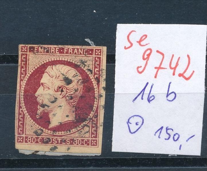 Frankreich Nr.   16  b  o    (se 9742 ) -siehe Bild