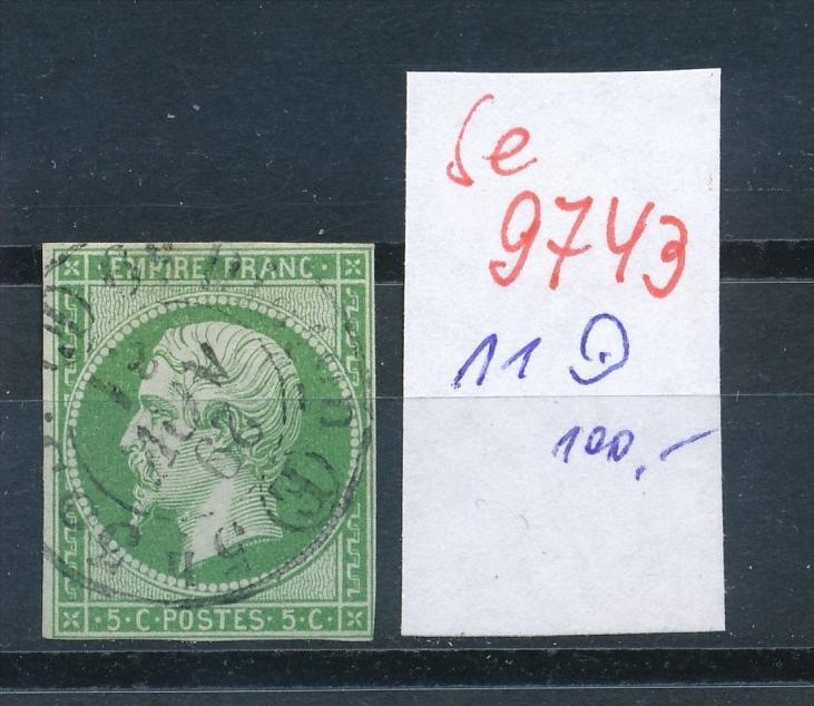 Frankreich Nr.   11  o    (se 9743 ) -siehe Bild