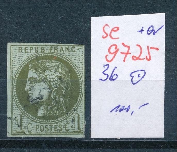 Frankreich Nr.  36    o    (se 9725 ) -siehe Bild