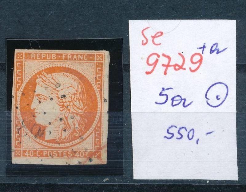 Frankreich Nr.  5a    o    (se 9729 ) -siehe Bild