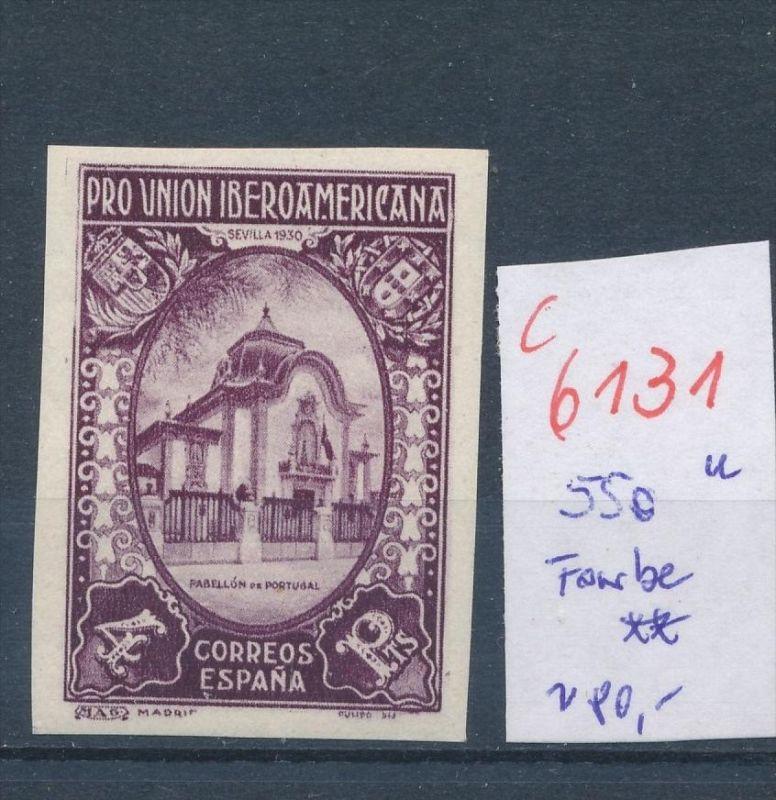 Spanien Nr.  550 U- Essay ? .. **(c 6131 ) -siehe Bild
