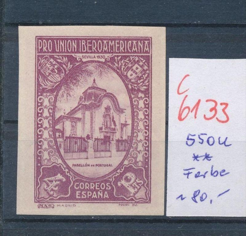 Spanien Nr.  550 U- Essay ? .. **(c 6133 ) -siehe Bild