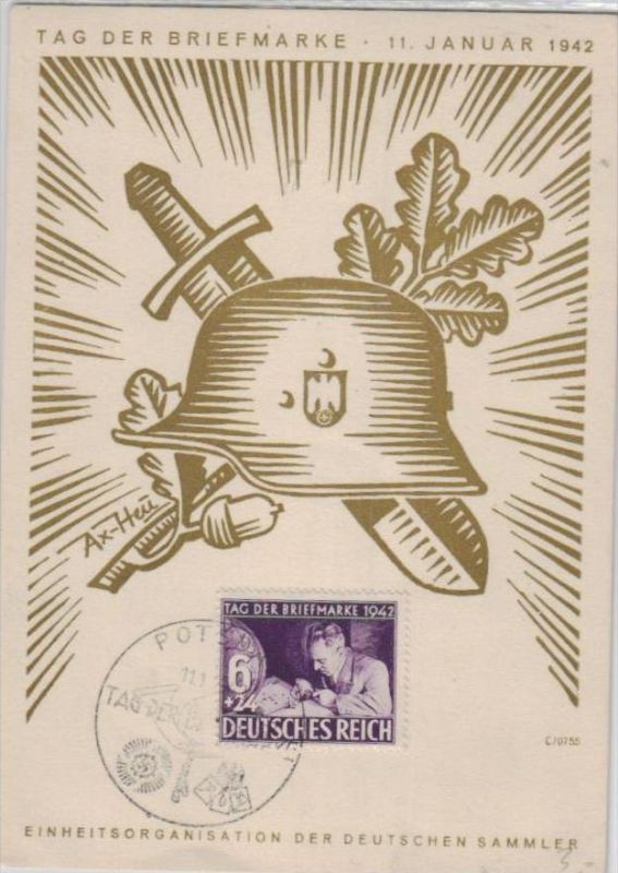 D.-Reich Gedenkblatt( ka  1847 ) siehe scan !